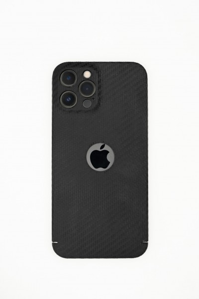 Carbon Cover iPhone 13 Pro con Logowindow