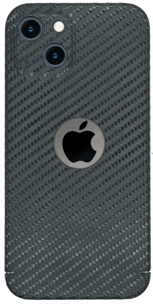 Carbon Cover iPhone 13 Mini con Logowindow