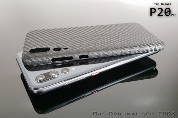Magnetic Carbon Cover Huawei P20 Pro